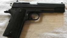 pistola secuestrada